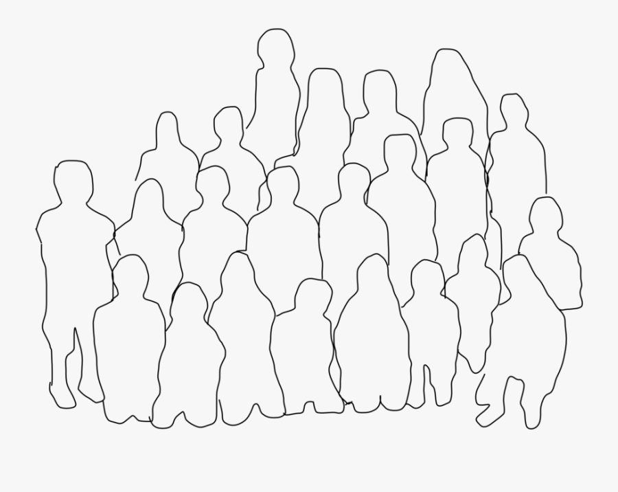 Group Of People - Group Of People Clipart, Transparent Clipart
