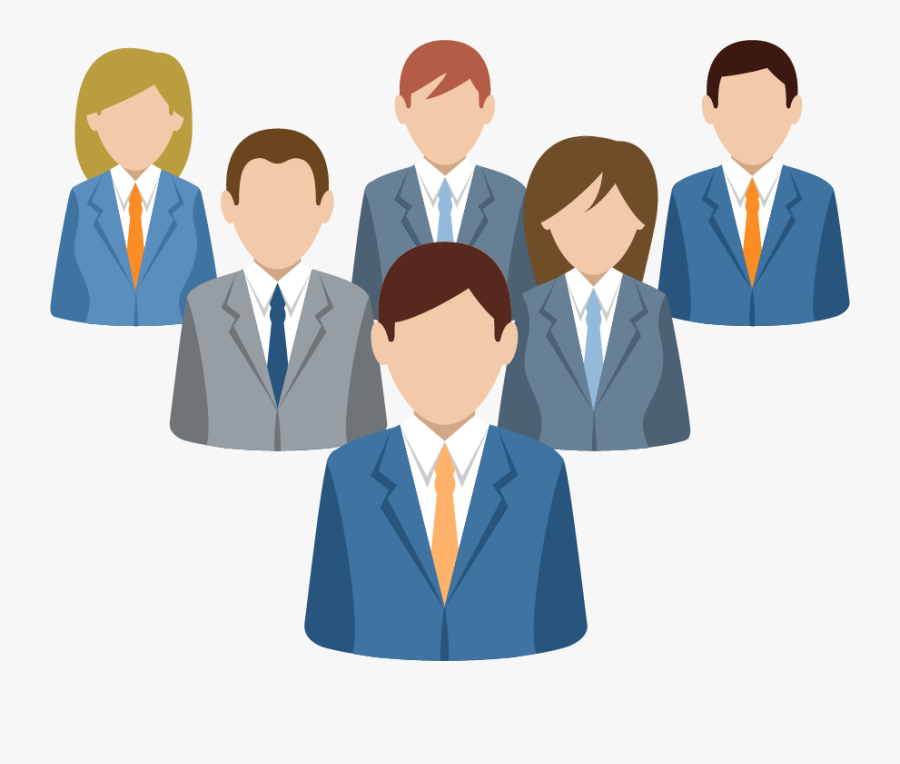 Group Of People Clipart Png - Business People Clipart Png, Transparent Clipart