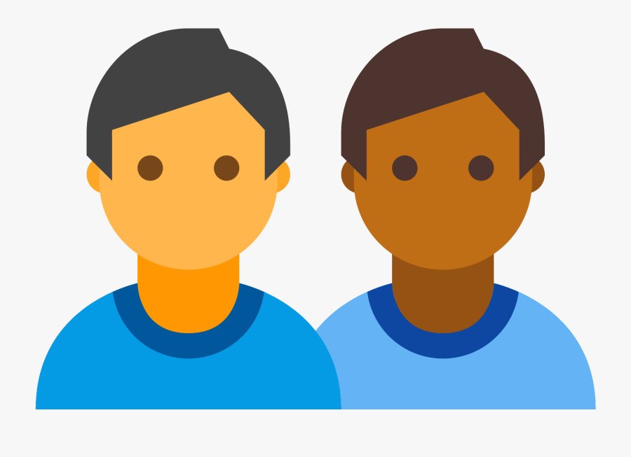 This Image Is Depicting A Group Of Four People Clustered - User Colorful Icon Png, Transparent Clipart