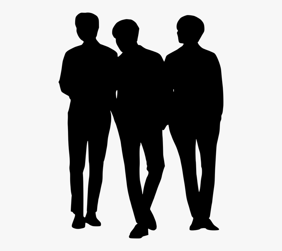 Transparent Hacer Ejercicio Clipart - Group People Silhouette Png, Transparent Clipart