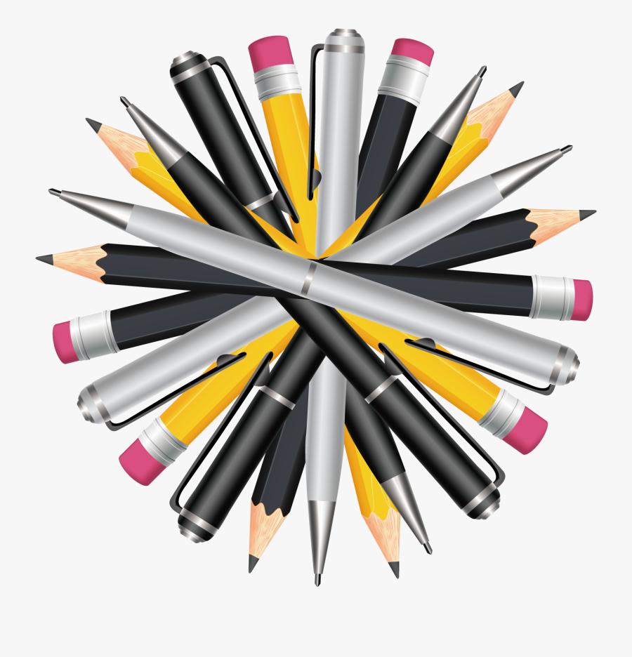 Transparent Pens And Pencils Clipart - Pens And Pencils Clipart, Transparent Clipart