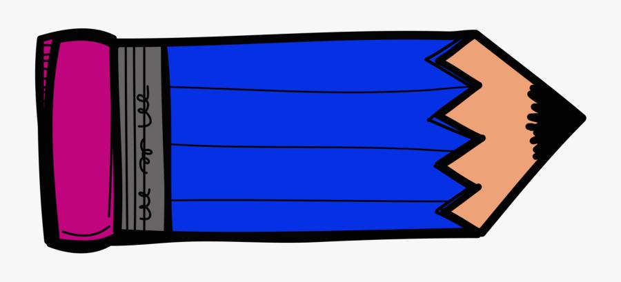 Collection Of Blue - Pencil Clipart Blue Pencil, Transparent Clipart
