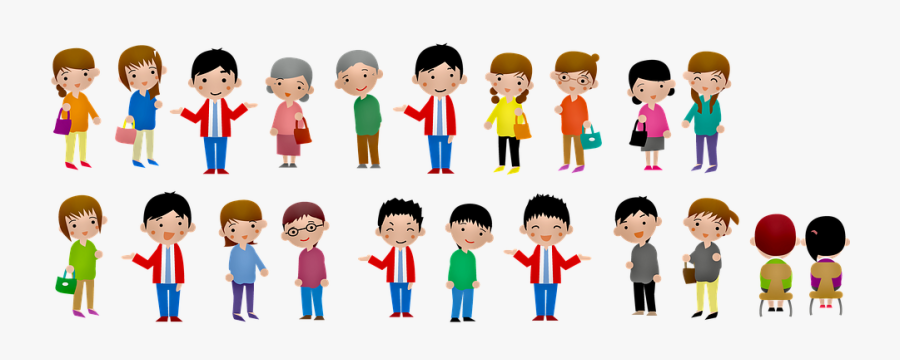 People,cartoon,social Group,clip With Sports,family - Transparent Background Grandma Grandpa Clipart, Transparent Clipart