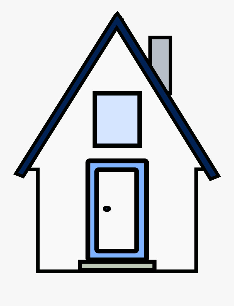 Clipart White House Kartun Rumah Hitam Putih Free Transparent Clipart Clipartkey