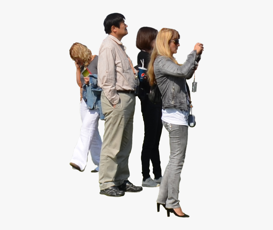 Group Of People Png - Transparent Background People Standing Png, Transparent Clipart