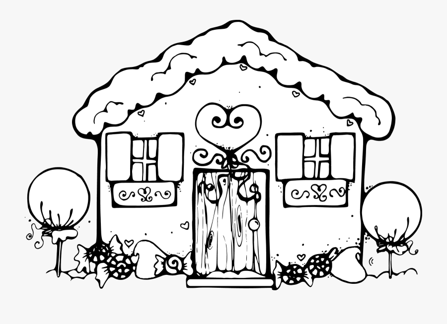 Gingerbread Baby Clipart Clip Transparent Download - My Little Pony House Coloring Pages, Transparent Clipart