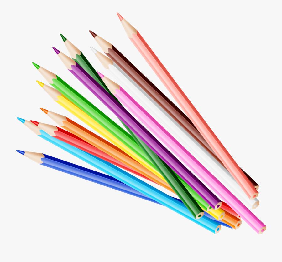 Transparent Pencil Png Clipart - Transparent Color Pencil Png, Transparent Clipart