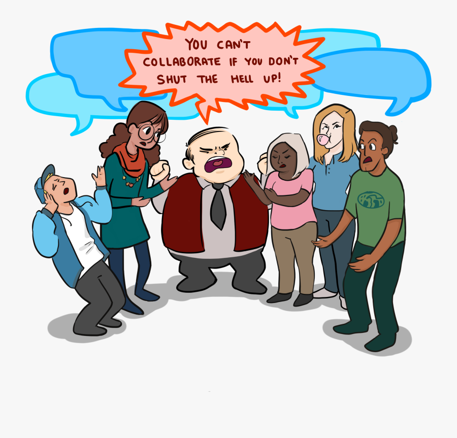 Collaboration In A Real - Workplace Collaborate, Transparent Clipart