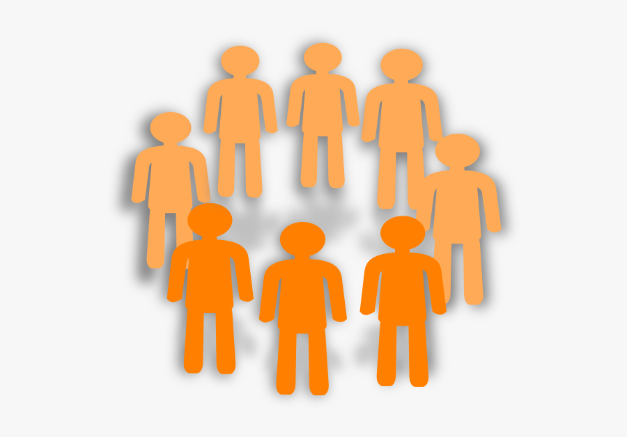 At Clker Com Vector - 2 Groups Of People Clipart, Transparent Clipart