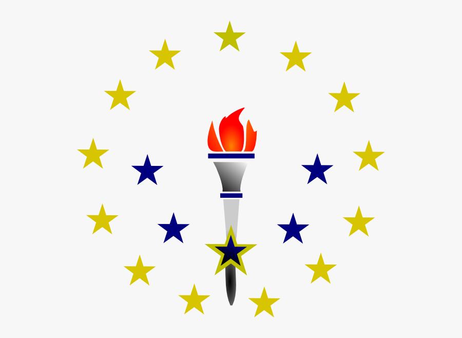 Torch Svg Clip Arts - Green Torch, Transparent Clipart