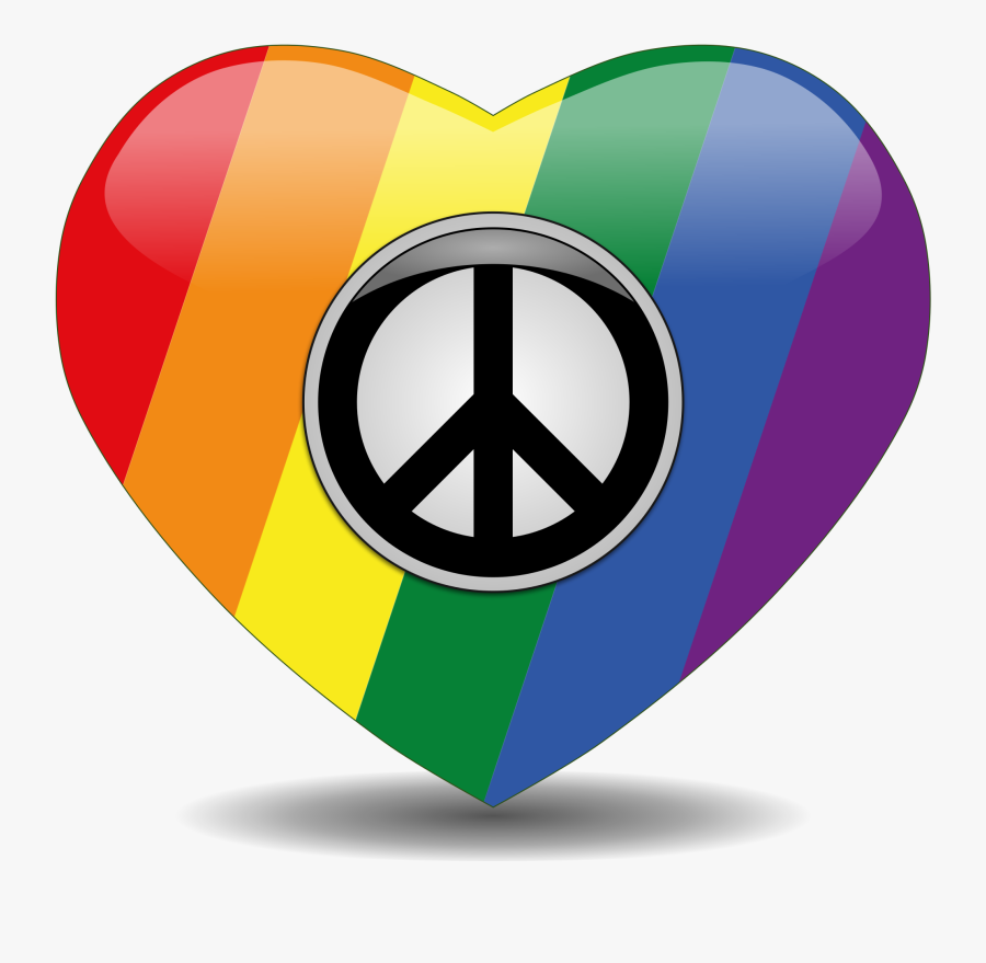 Peace Clipart Art - Symbols Of Peace And Love Png, Transparent Clipart