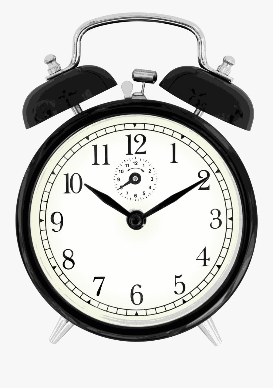 File Black Windup Face - Alarm Clock Png, Transparent Clipart