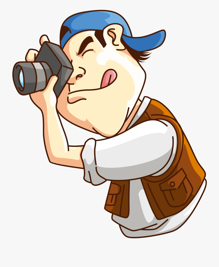 Photography Clipart Professional Photographer - Photographer Clipart, Transparent Clipart