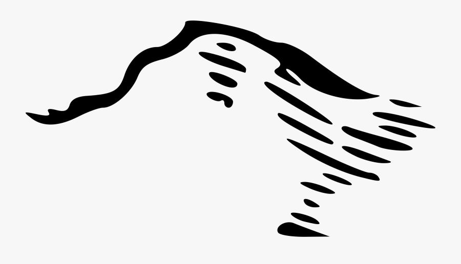 Transparent Mountains Clip Art - Mountain Icon For Map, Transparent Clipart