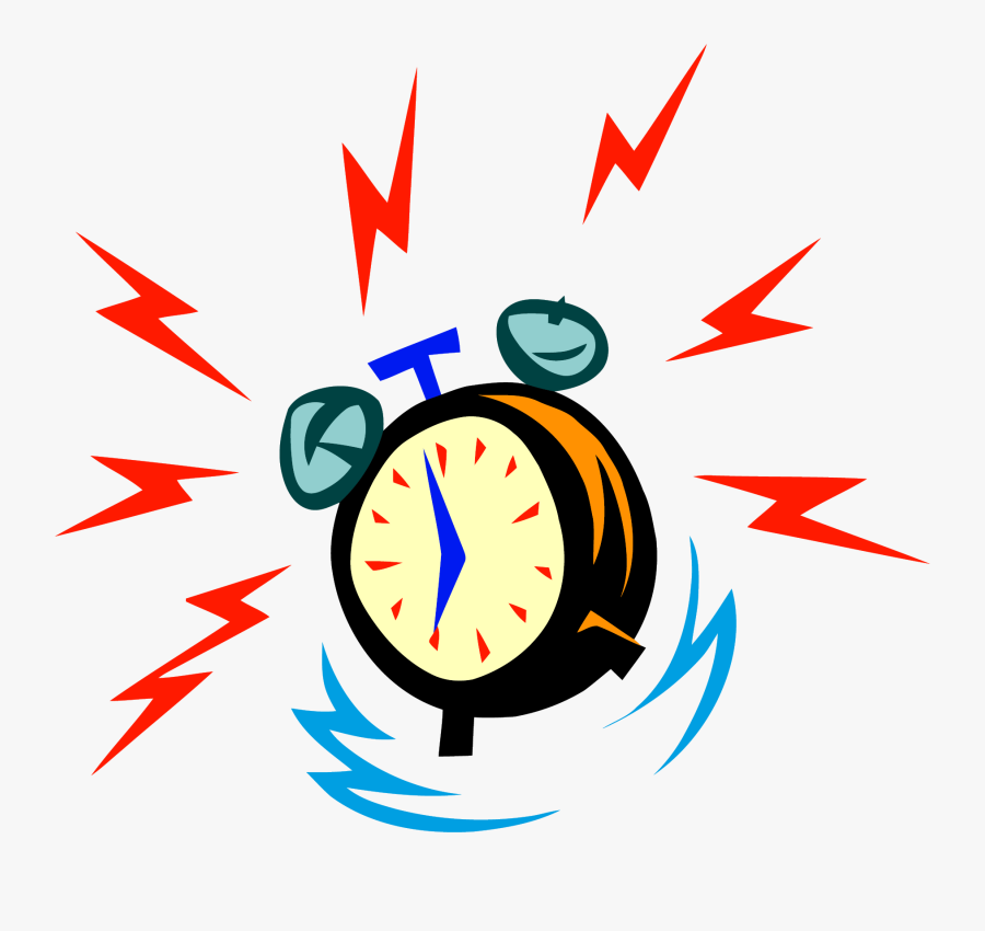 Alarm Clock, Transparent Clipart