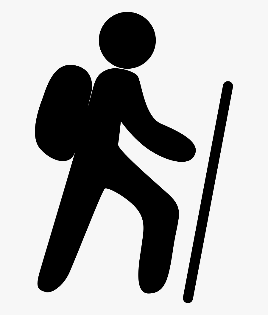 Mountain Climbing Svg Png Icon Free Download - Mountain Climber Icon Png, Transparent Clipart