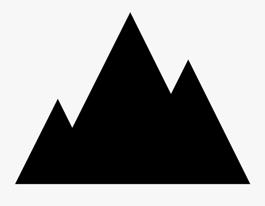 Mountains Png Download - Mountain Icon, Transparent Clipart