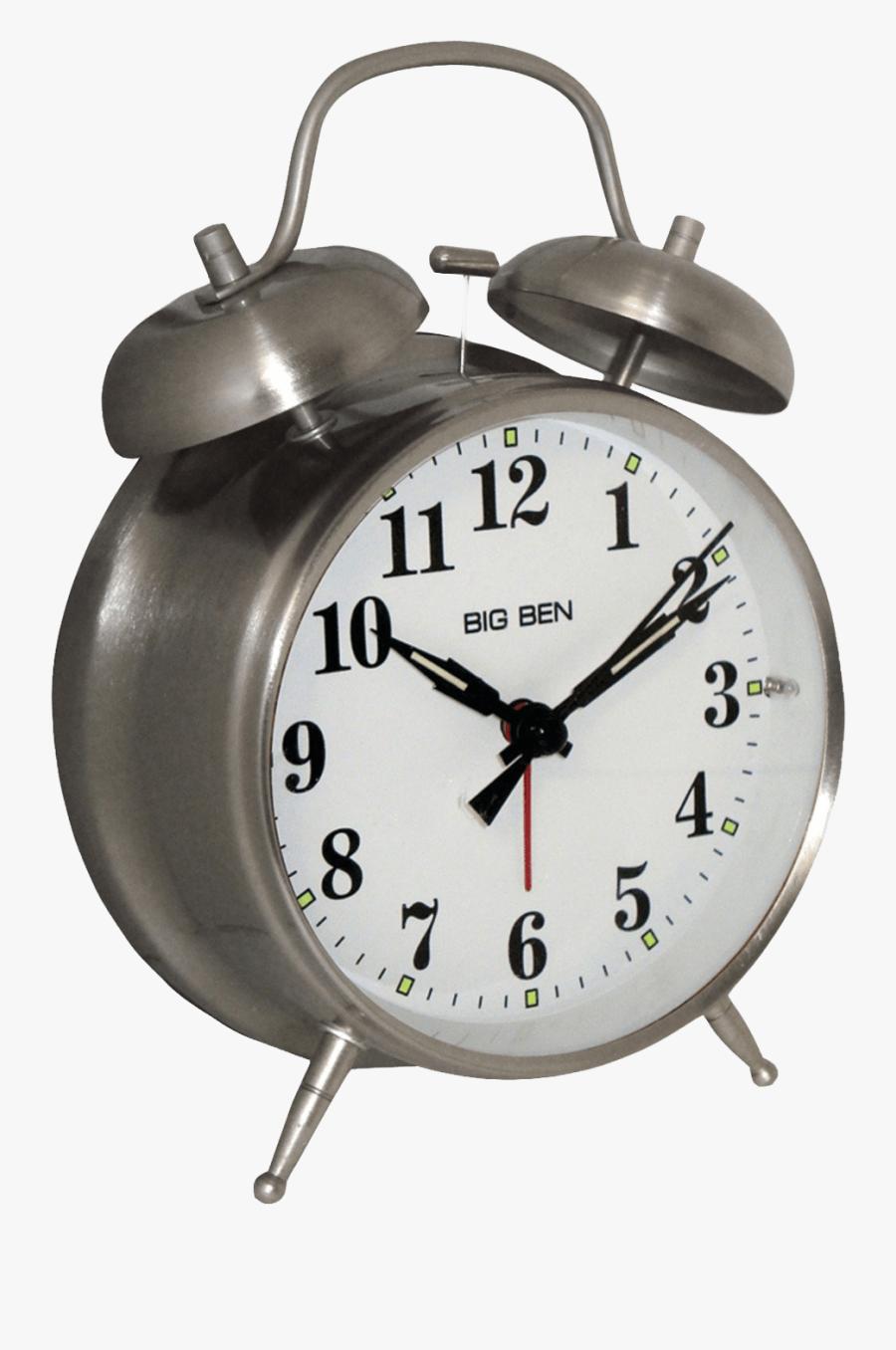 Alarm Clock Png - Bell Alarm Clock, Transparent Clipart