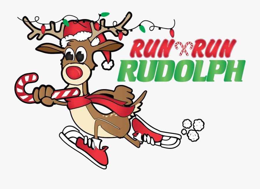 Tucson Run Rudolph - Run Run Rudolph Tucson, Transparent Clipart