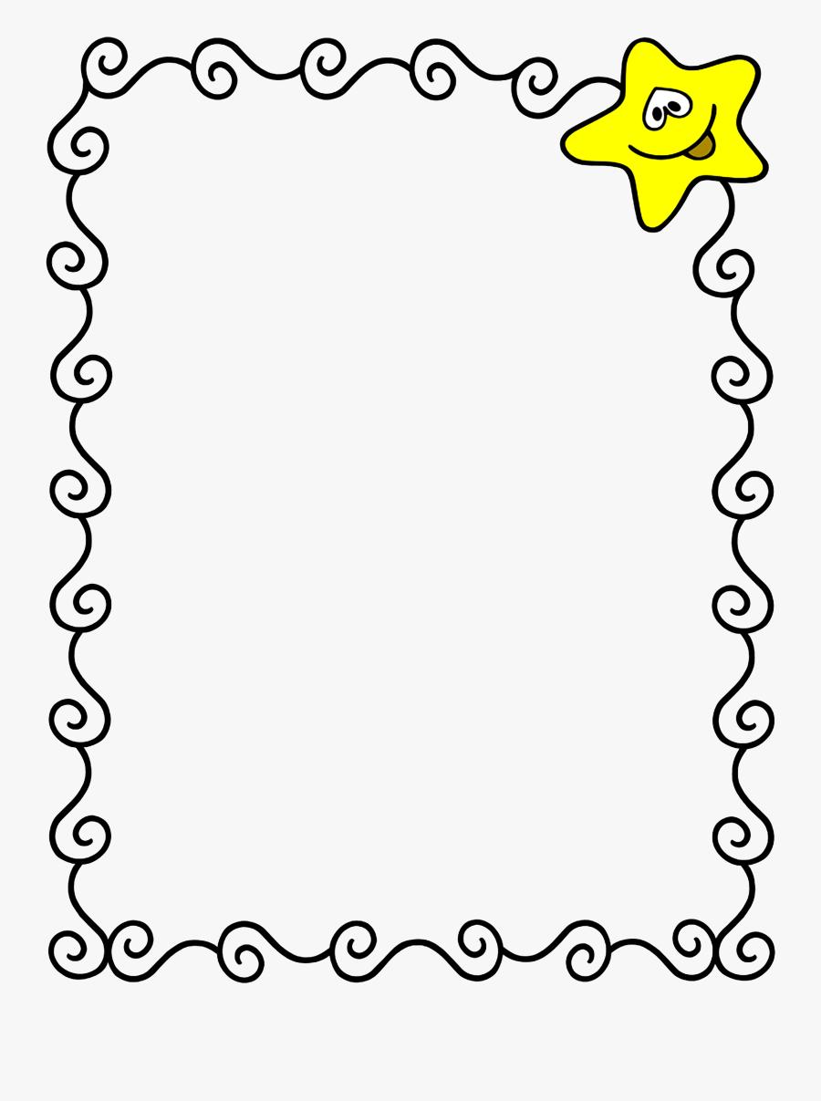 Marcos/frame - Border Design For Scrapbook, Transparent Clipart