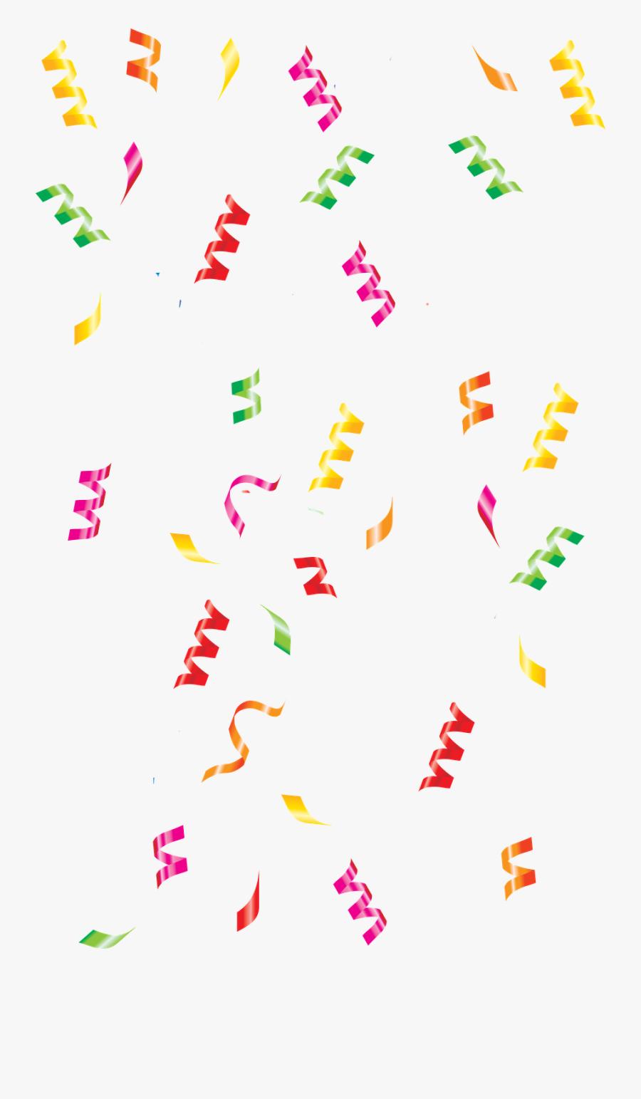 Transparent Celebration Clipart - Confetti Clipart, Transparent Clipart