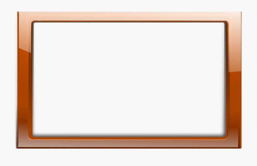 Border Free Frame Clip Art Teaching Clip Art Free Frames - Orange Frame, Transparent Clipart