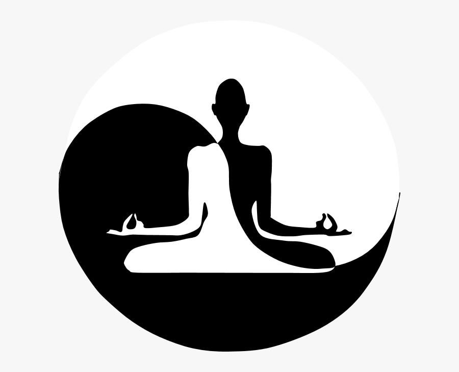 Yin Yan Yoga Clipart - Yin Yoga, Transparent Clipart