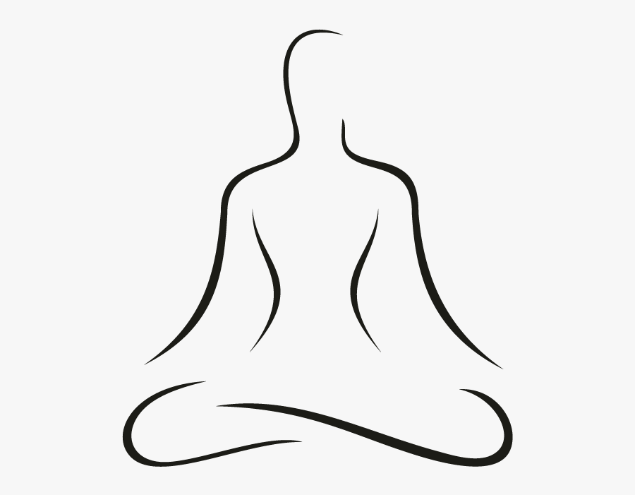 Collection Of Free Yoga Drawing Download On Ui Ex - Yoga Line Drawing, Transparent Clipart