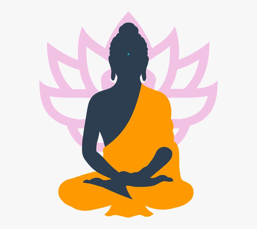 Art,physical Character - Buddha Meditation Png, Transparent Clipart