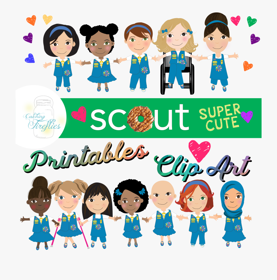 Girl Scout Daisy Clip Art African American, Transparent Clipart