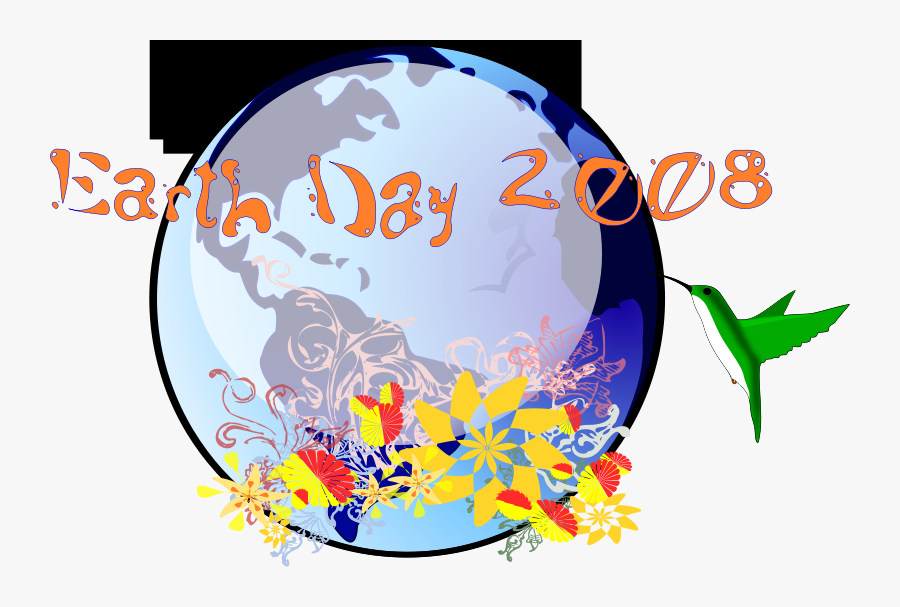 Earth Day 2008, Transparent Clipart