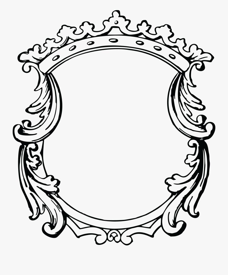 Fancy Clipart Clipartxtras Png - Round Border Clip Arts, Transparent Clipart