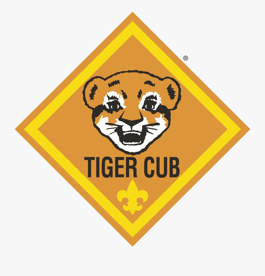 Tiger Cub Scout Logo - Cub Scouts Tiger Cub, Transparent Clipart