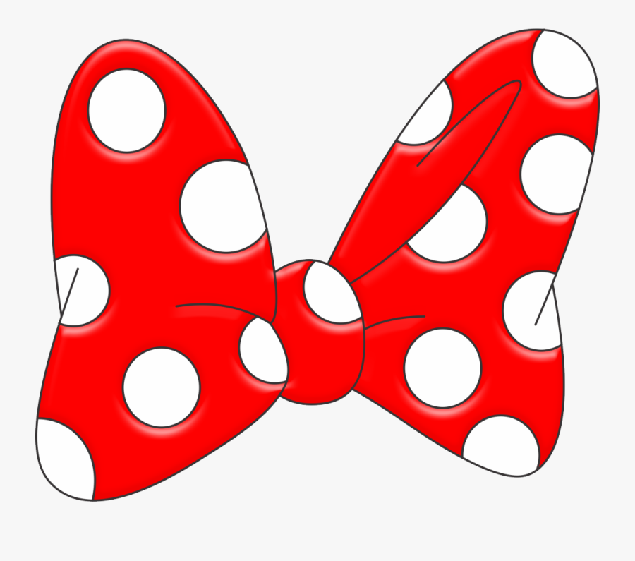 Minnie Mouse Bow Free Download Clip Art Free Clip Art - Minnie Mouse Red Bow, Transparent Clipart