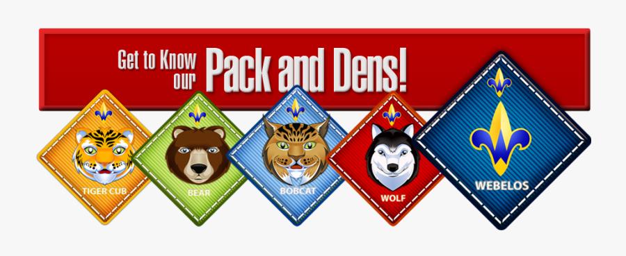 Picture - Cub Scouts Packs, Transparent Clipart