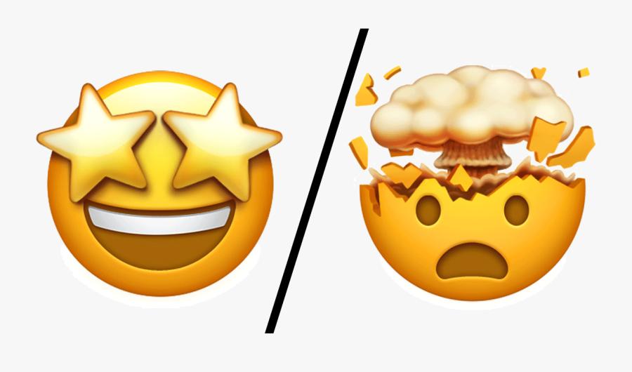 Power Of Love Emoji - Iphone Emojis Mind Blown, Transparent Clipart