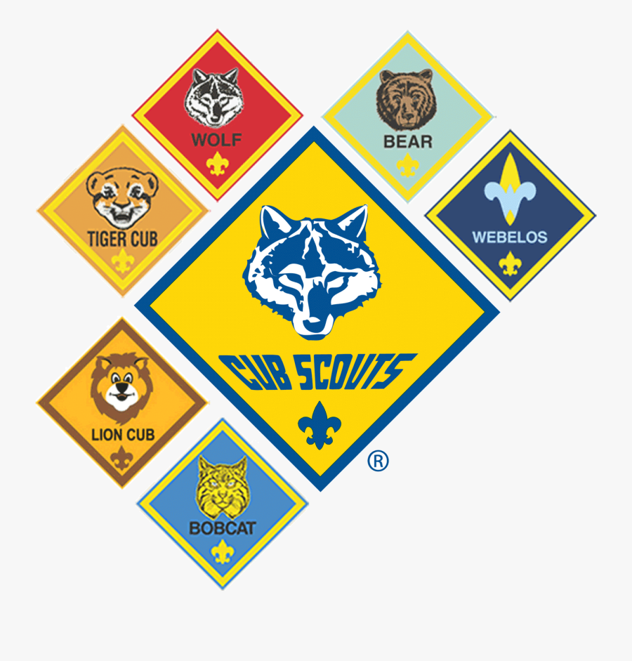 Interested In Cub Scouts - Cub Scout Ranks 2018, Transparent Clipart