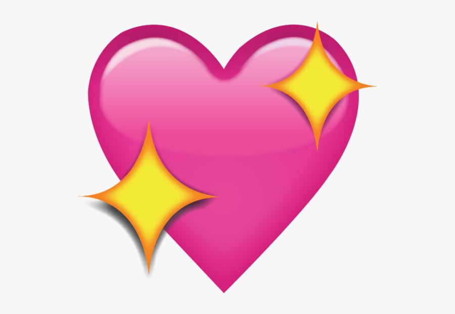 Crown Clipart Emoji - Heart Emoji Transparent Background, Transparent Clipart