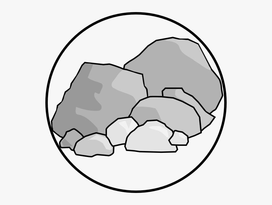 Transparent Rock Clip Art Png - Clipart Rocks, Transparent Clipart
