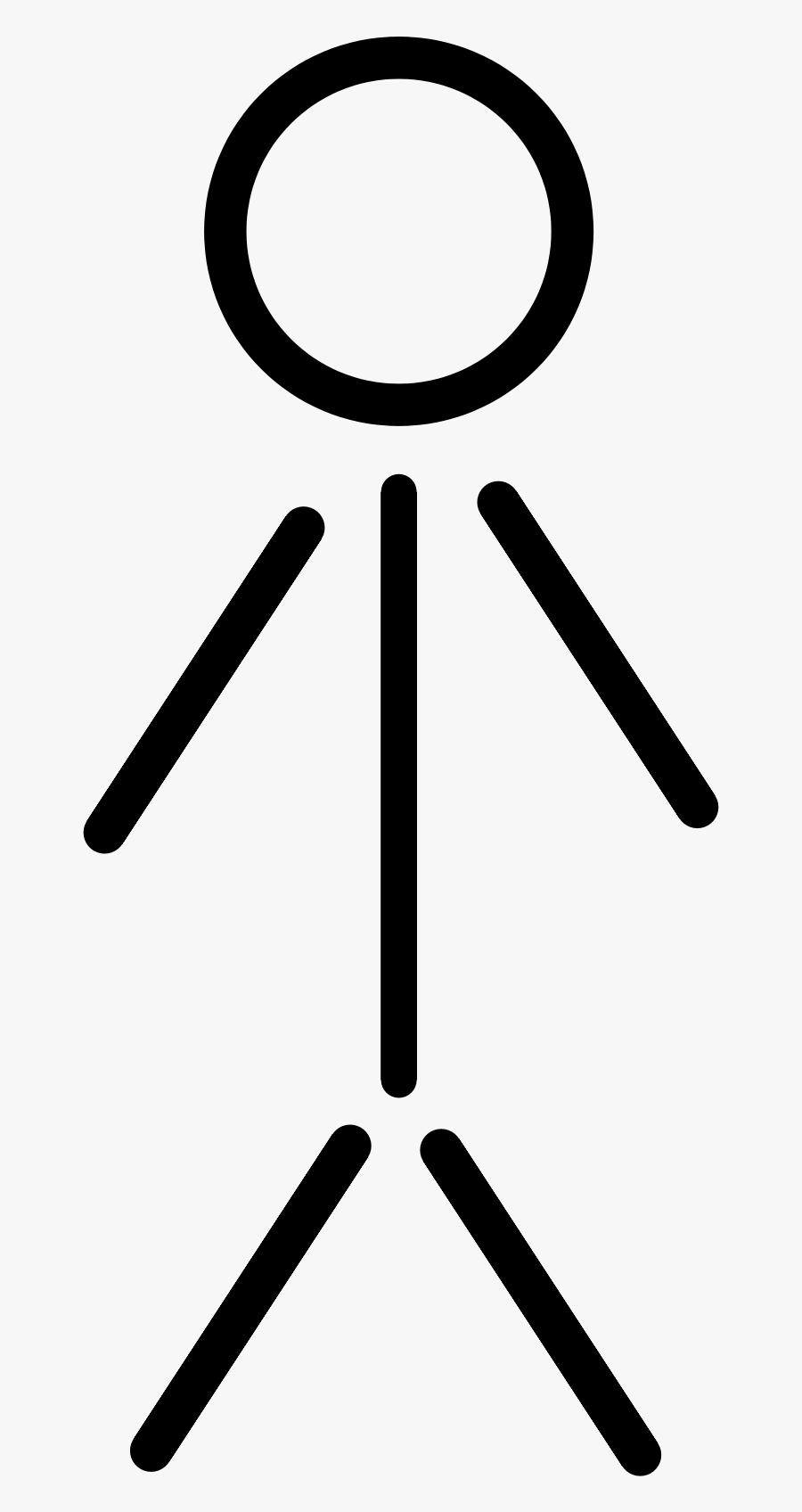 Thumb Image - Clipart Stick Figure, Transparent Clipart