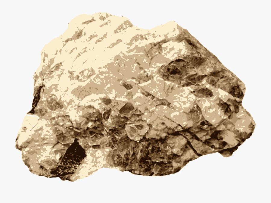 Clip Art Quartz Rock Mineral Computer - Quartz Rock Clipart, Transparent Clipart