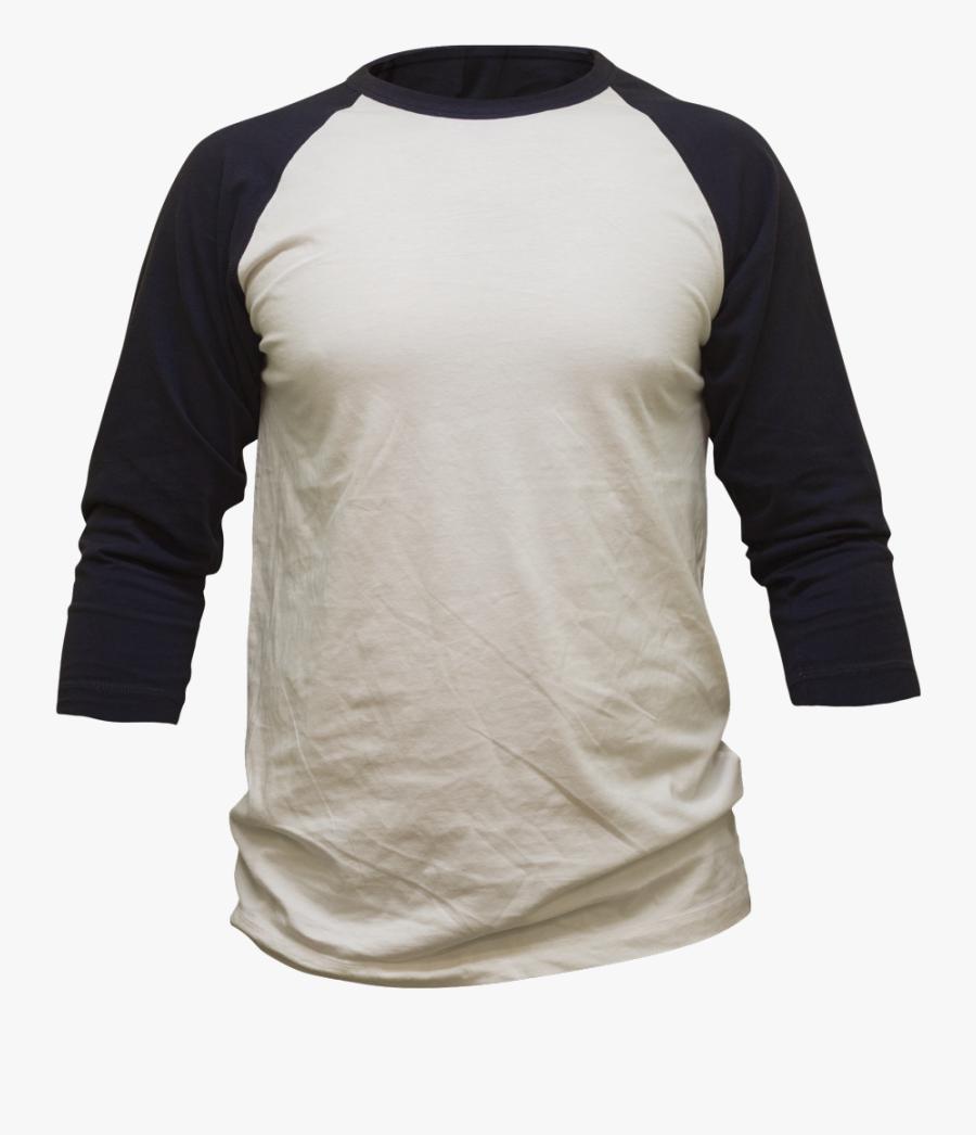 Baseball T Shirt Clipart - Long-sleeved T-shirt, Transparent Clipart
