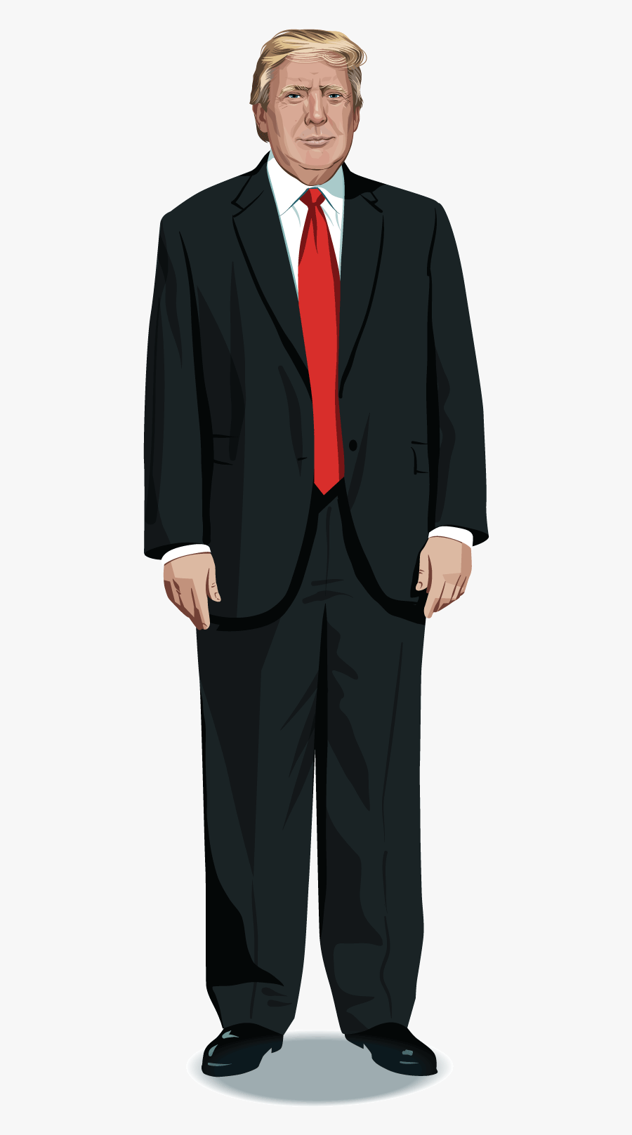 Donald Trump Who Winning The Presidential Election Full Body Trump Png Free Transparent Clipart Clipartkey Full indictment against donald trump adviser roger stone. donald trump who winning the