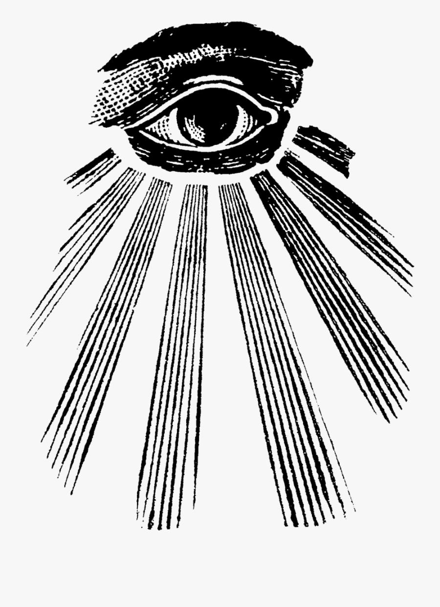 Clip Art Pin By Lily On - All Seeing Eye Design, Transparent Clipart