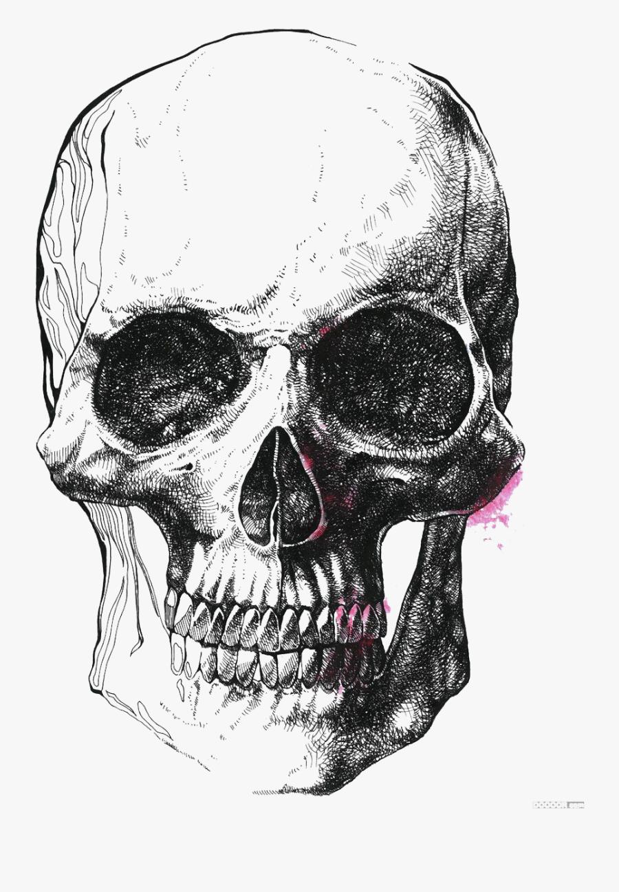 Clip Art Symbolism Drawing Skeleton Illustration - Black And White Skeleton, Transparent Clipart