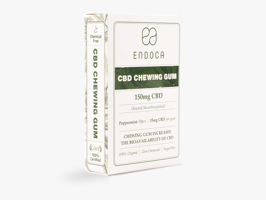 Cbd Chewing Gum 150mg - Paper Product, Transparent Clipart