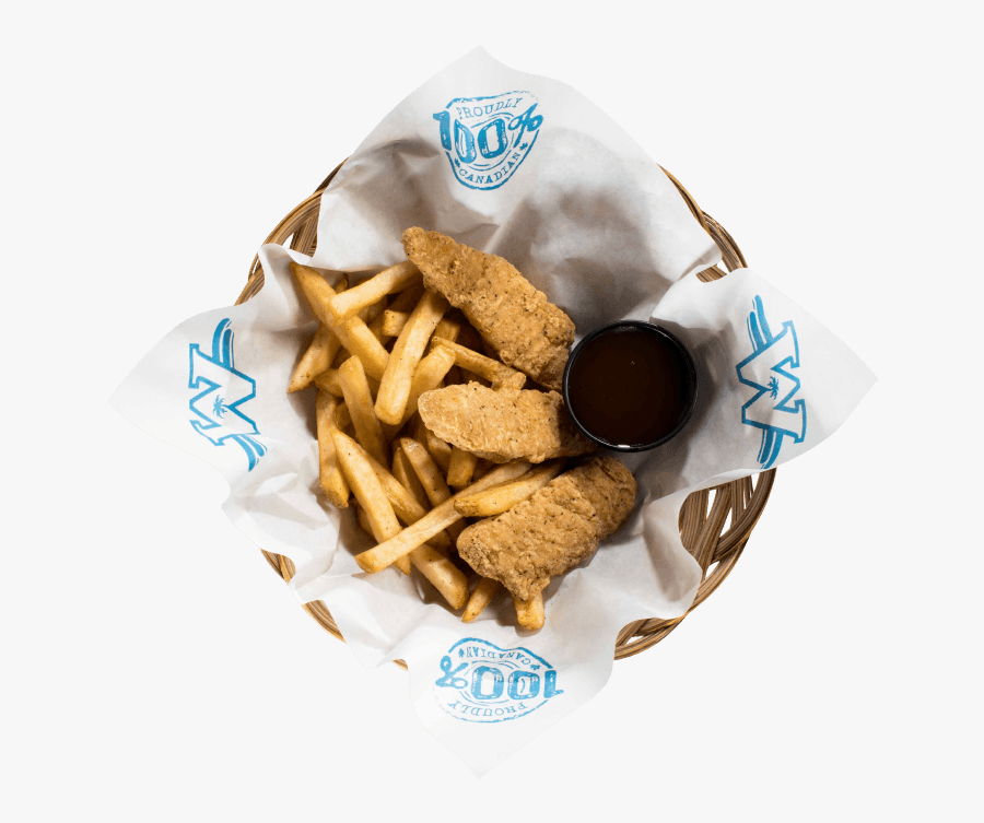 Chicken Tenders , Png Download - Fish And Chips, Transparent Clipart