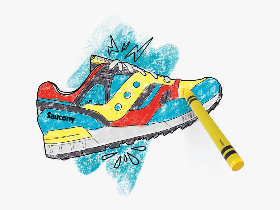Transparent Track Shoe Png - Illustration, Transparent Clipart