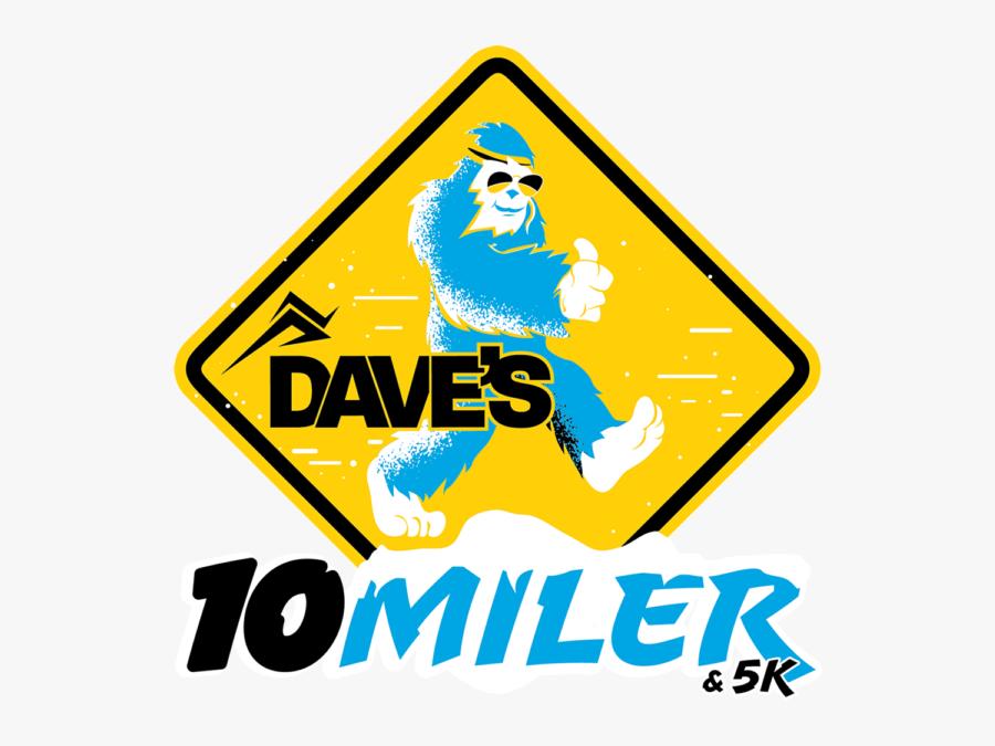 """Dave""""s 10-miler & 5k Run Delta, Ohio, Transparent Clipart"""