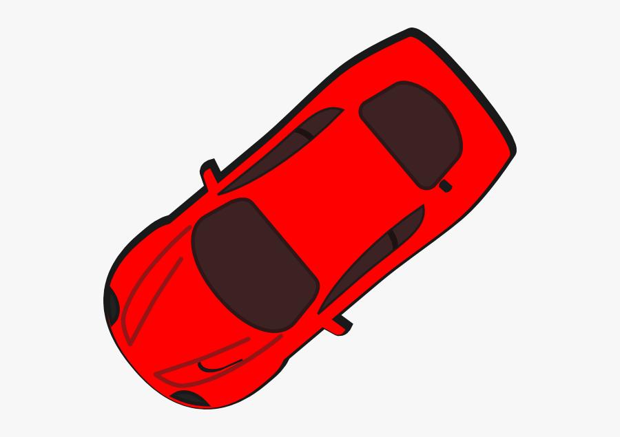 Transparent Top Of Car Png - Icon Car Vector Top View, Transparent Clipart
